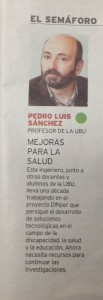 El semáforo Diario de Burgos